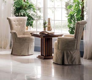 Modigliani fauteuil, Fauteuil à haut dossier