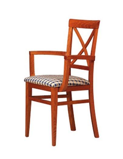 311 P, Chaise avec bras et le dos en bois, pour les pubs