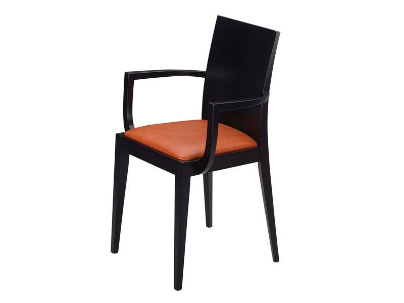 Masha/P, Fauteuil avec siège rembourré, pour les bars et restaurants
