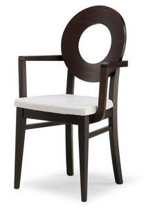 PL 47 / UHP, Chaise avec dossier en bois et assise rembourrée, en différentes couleurs