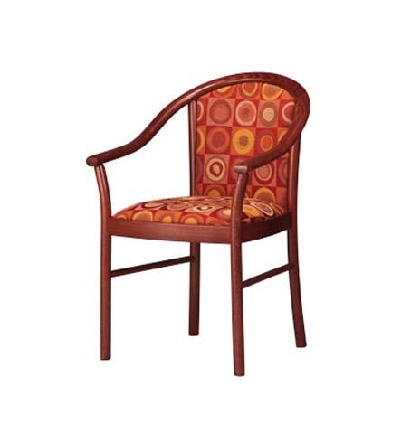 408, Chaise rembourrée, avec accoudoirs, des hôtels et des pubs