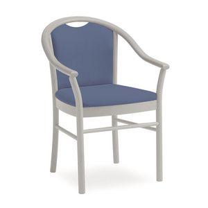 Dolly L1175 M, Chaise classique avec accoudoirs, fonctionnelle, pour les hôtels