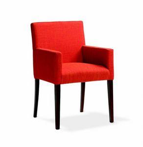 242 Relax/P, Petit fauteuil rembourré pour les hôtels