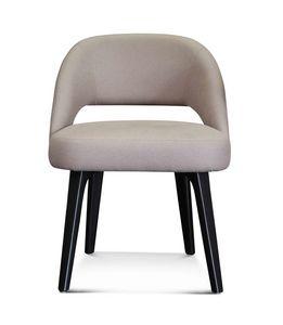 ART. 3369, Petit fauteuil avec pieds finition Eucalyptus