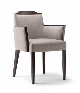 BOSTON ARMCHAIR 010 PB, Chaise moderne à usage contractuel