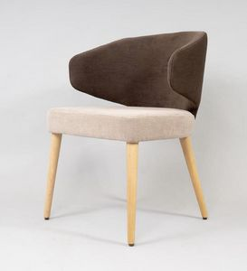 BS488A - Chaise, Chaise avec dossier enveloppant