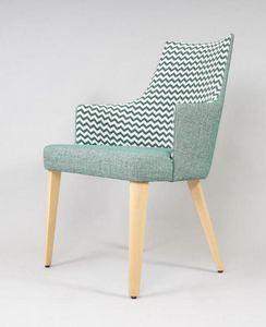 BS525A - Chaise, Chaise rembourrée pour hôtels