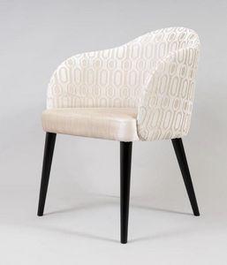 BS529A - Chaise, Chaise rembourrée pour l'ameublement d'un hôtel