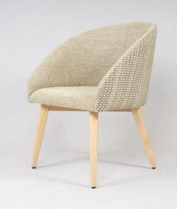 BS532A - Chaise, Chaise avec assise et dossier rembourrés