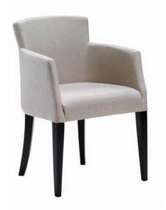 Garda-P, Petit fauteuil rembourré pour salle à manger