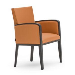 Logica 00931, Petit fauteuil idéal pour l'hôtel et les restaurants