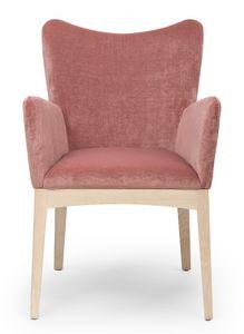 Love ARMS, Petit fauteuil avec dossier en forme