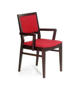 M06, Essential chaise avec accoudoirs, pour restaurants et bars