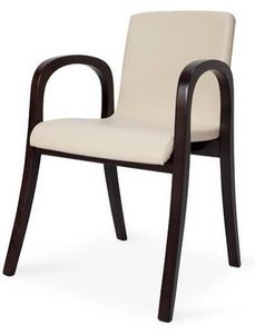 MV 2A, Chaise moderne avec accoudoirs, différentes finitions