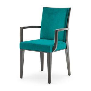 Newport 01821, Chaise de salle à manger avec accoudoirs