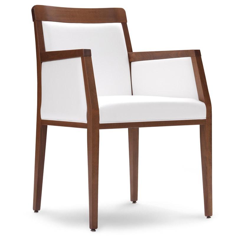 PL 49 ER, Chaise avec structure en bois, pour la salle de séance