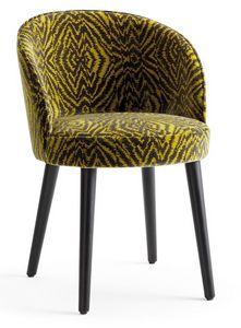 Tammy-P, Chaise aux formes arrondies