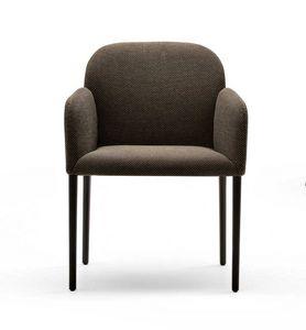 Zip, Chaise rembourrée avec un confort enveloppant