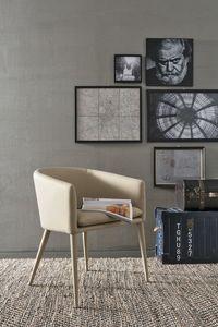 BALTIMORA PT600, Fauteuil moderne idéal pour les bars et les appartements