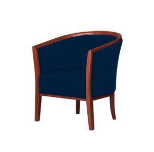 C15, Fauteuil capitonné confortable, pour les salles d'attente et les salons