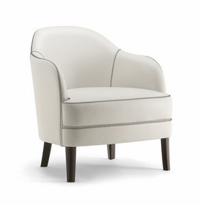 CHICAGO LOUNGE CHAIR 015 PL, Fauteuil artisanal