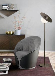 MAMA fauteuil, Fauteuils entièrement recouverts de cuir ou de similicuir