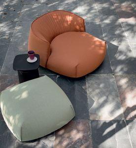 Brioni outdoor armchair, Fauteuil lounge extérieur