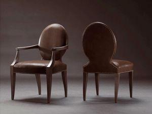 CASPER armchair 8240A, Chaise entièrement tapissée, recouvert de cuir