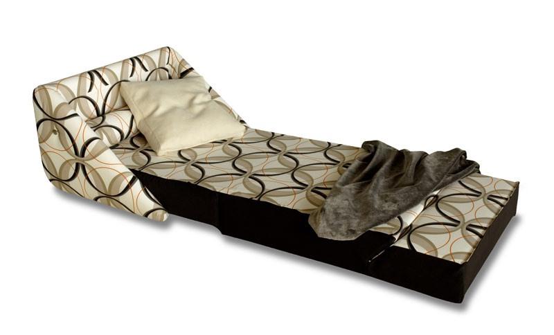 Easy, Fauteuil convertible en lit, avec des roues, déhoussable
