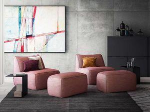 Eden fauteuil, Fauteuil avec des lignes modernes