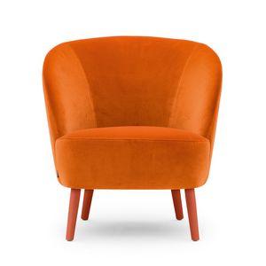 Rose 03041, Fauteuil lounge au profil enveloppant