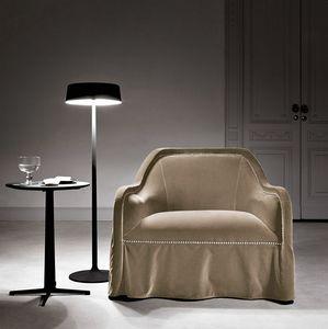 Arpège fauteuil, Fauteuil avec jupe