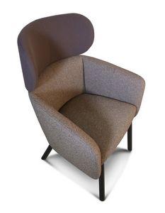 ART. 0054 BALÙ Lounge, Fauteuil confortable, pour des espaces de détente et de conversation