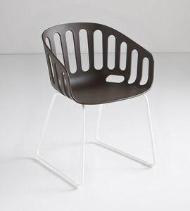 Basket Chair ST, Fauteuil luge en technopolymère