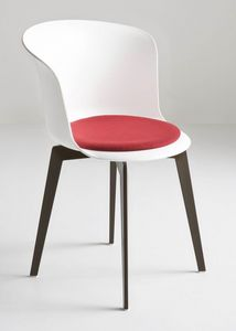 Epica FIX, Président fixe en polymère, la conception ergonomique