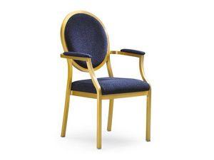 Salon 95/10A, Chaise pour les salles de conférence, avec le système de couplage latéral
