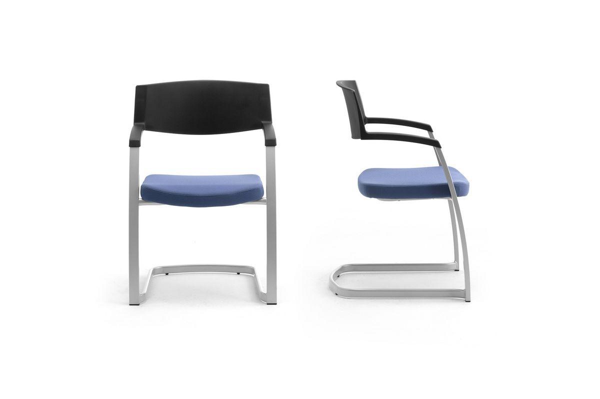 Time 0590, Chaise avec luge pour bureaux et salles de réunion
