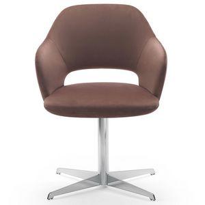 Vivian armchair, Fauteuil avec base pivotante