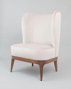 C63, Bergère fauteuil avec dossier haut