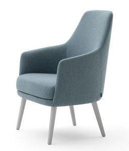 Danielle 03641, Chaise longue avec assise large