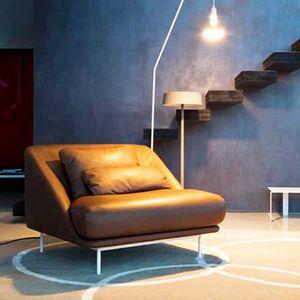 Daytona fauteuil, Fauteuil aux formes sinueuses, pour salon et espaces de détente