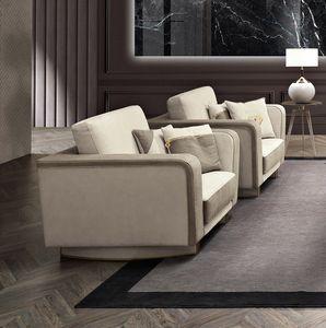 Diamond fauteuil, Fauteuil rembourré en velours ou en cuir