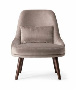 ZOE LOUNGE CHAIR 069 P, Fauteuil confortable