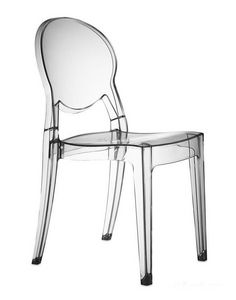 Igloo chair, Chaise design en polycarbonate, empilable