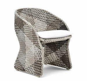 Maat fauteuil, Fauteuil tressé pour l'extérieur