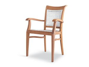 Newport fauteuil - polypropylène, Chaise ergonomique en bois pour les jardins et piscines