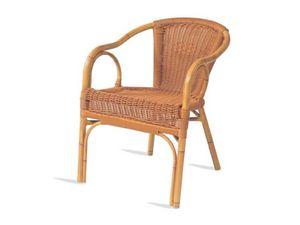 PL 403, Chaise avec accoudoirs, assise et dossier en xiloplast