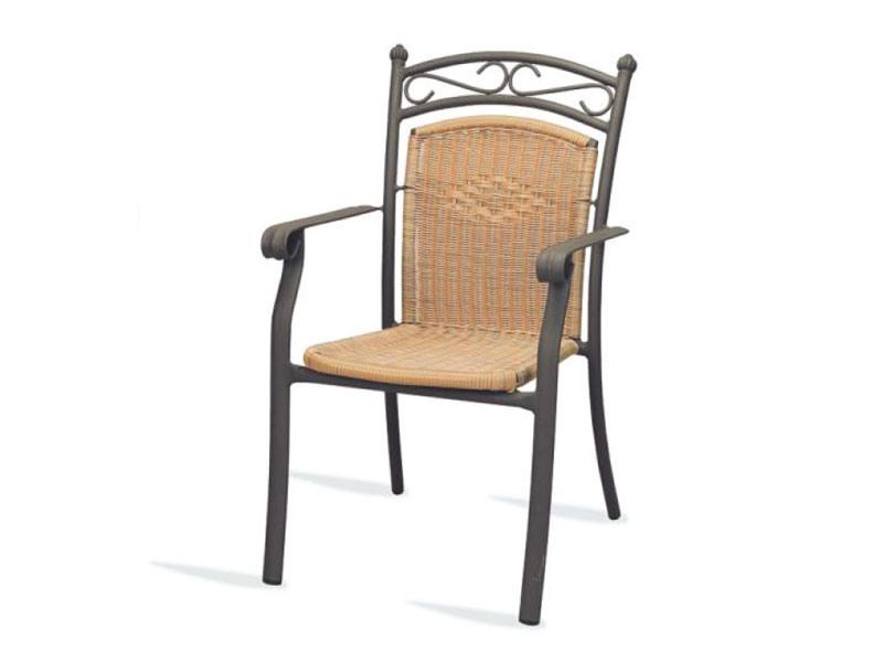 PL 406, Chaise avec accoudoirs, tissés, pour les hôtels et restaurants