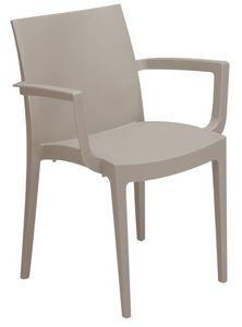 PL 6624, Chaise empilable en plastique adapté pour la barre