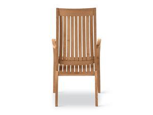 Wave futeuil, Fauteuil en bois, des lignes courbes, pour les jardins